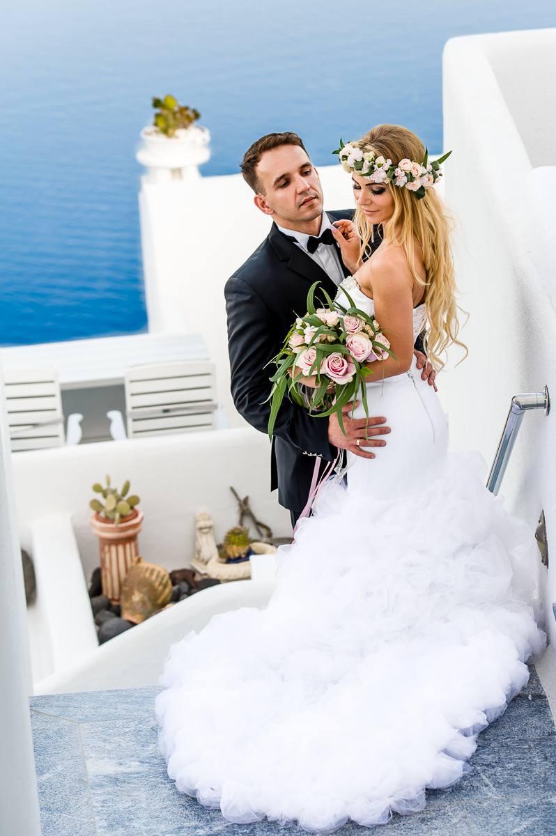 Sesja Ślubna na Santorini fotograf ślubny Śląsk