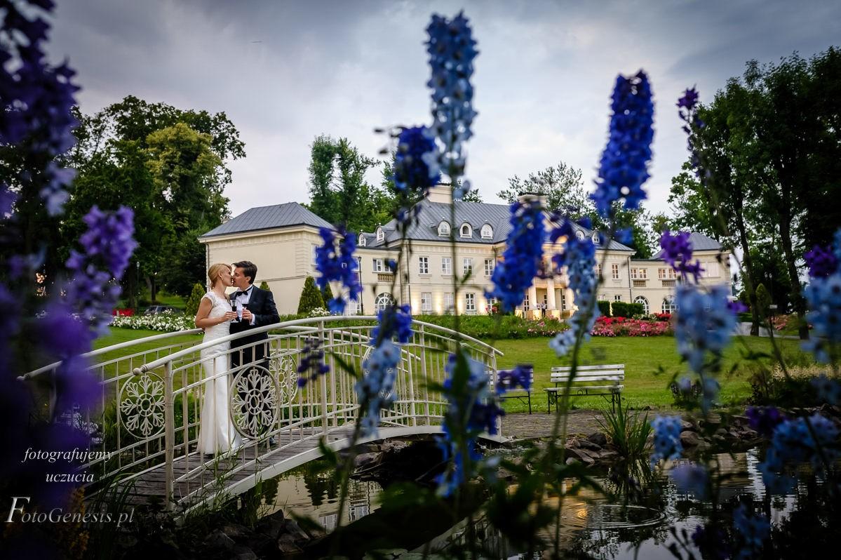 sesja ślubna Pałac Śmiłowice