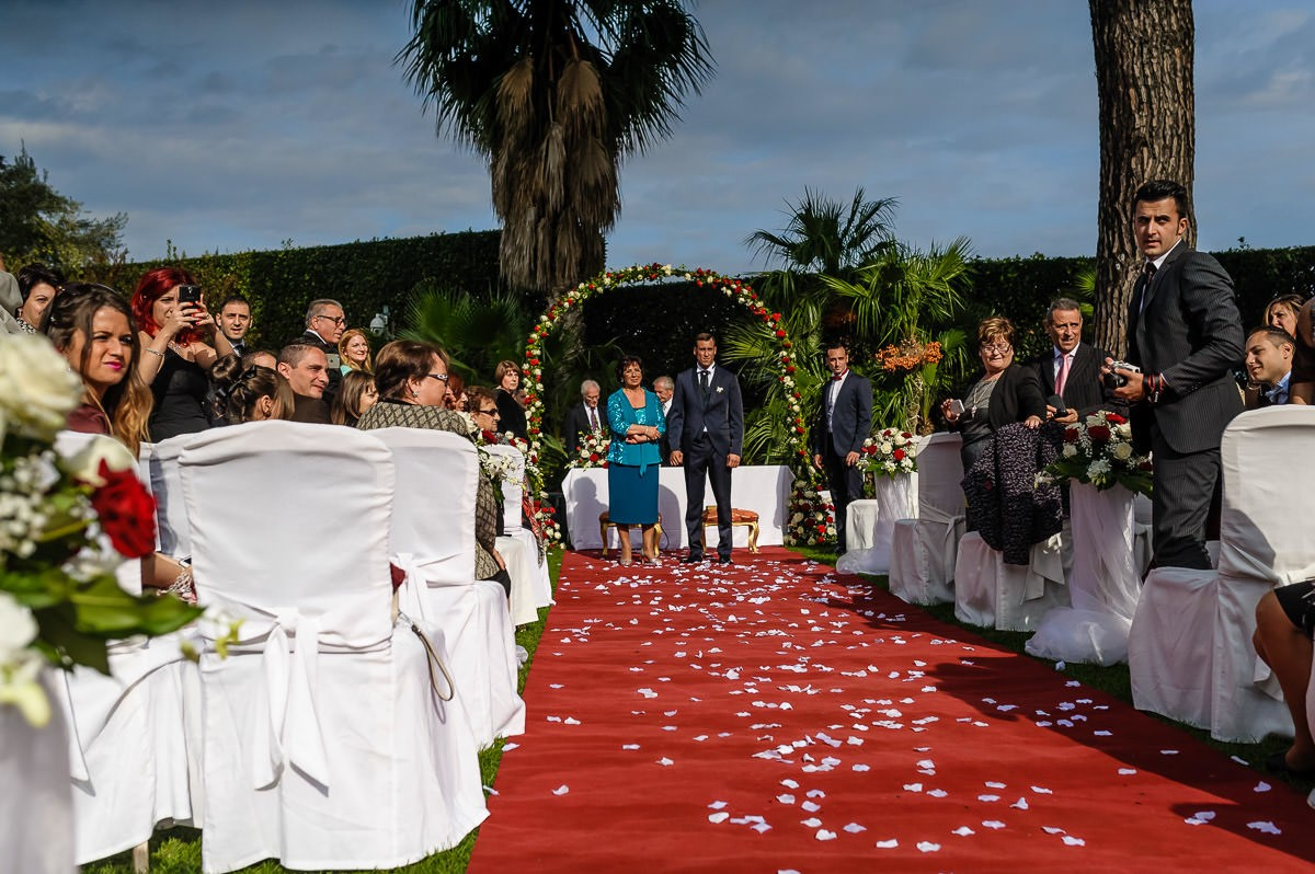 ślub Rzym Villa Il Sogno