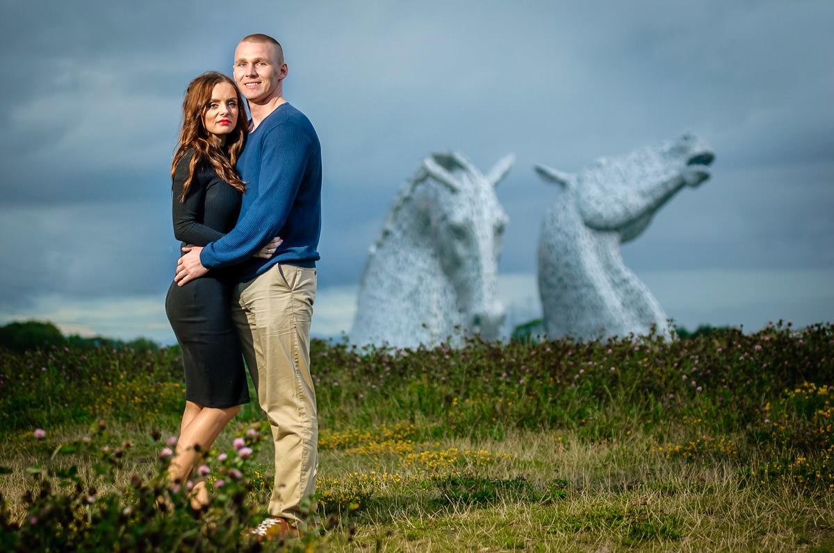 sesja narzeczeńska w Szkocji