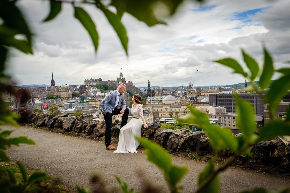 sesja ślubna w Szkocji
