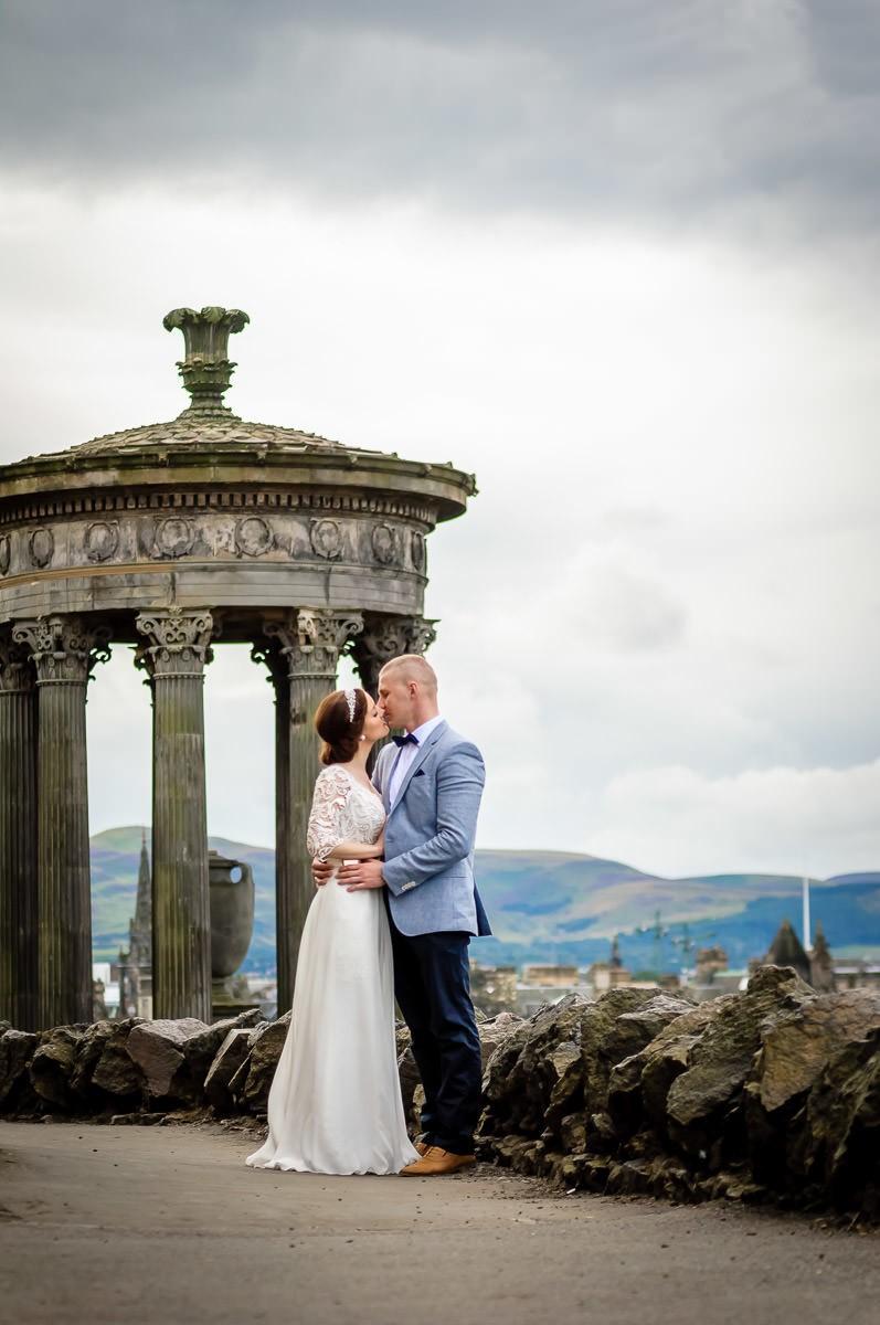 plener ślubny Szkocja Glasgow Edynburg