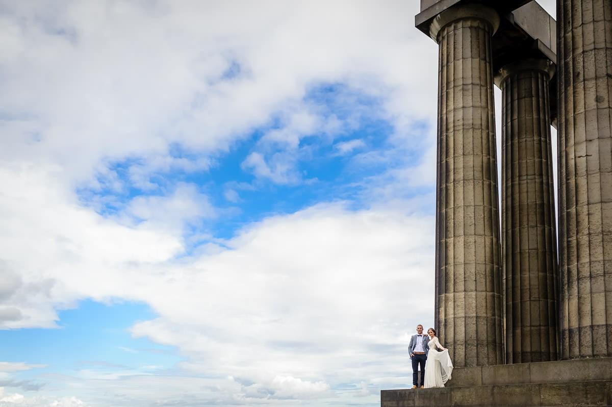 sesje ślubne Glasgow Edynburg