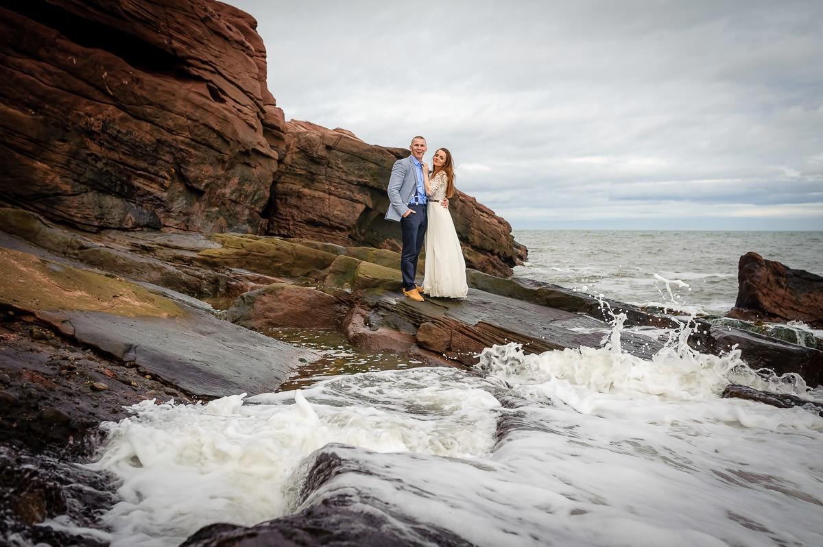 ślubna sesja zdjęciowa za granicą