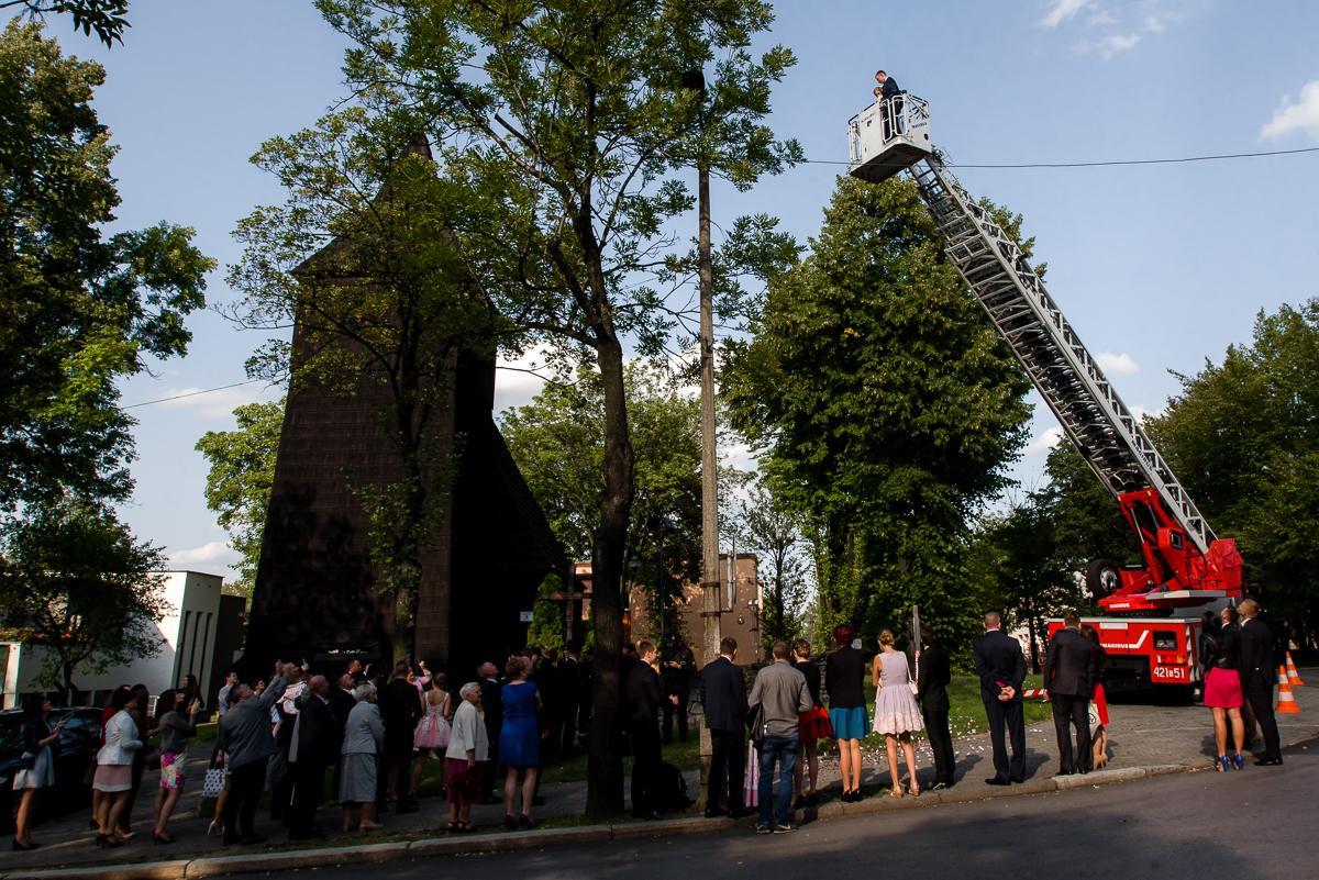 wesele strażaka
