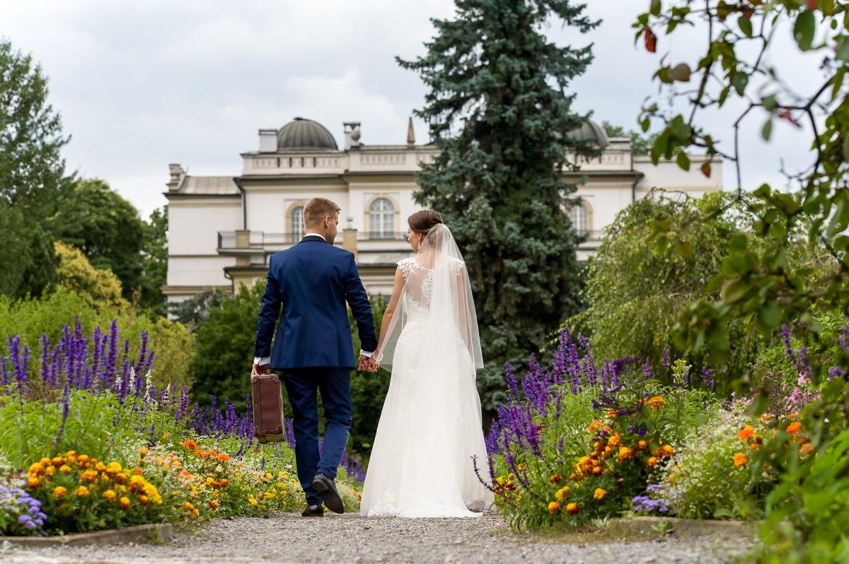 fotografia slubna krakow sesja ogrod botaniczny 107