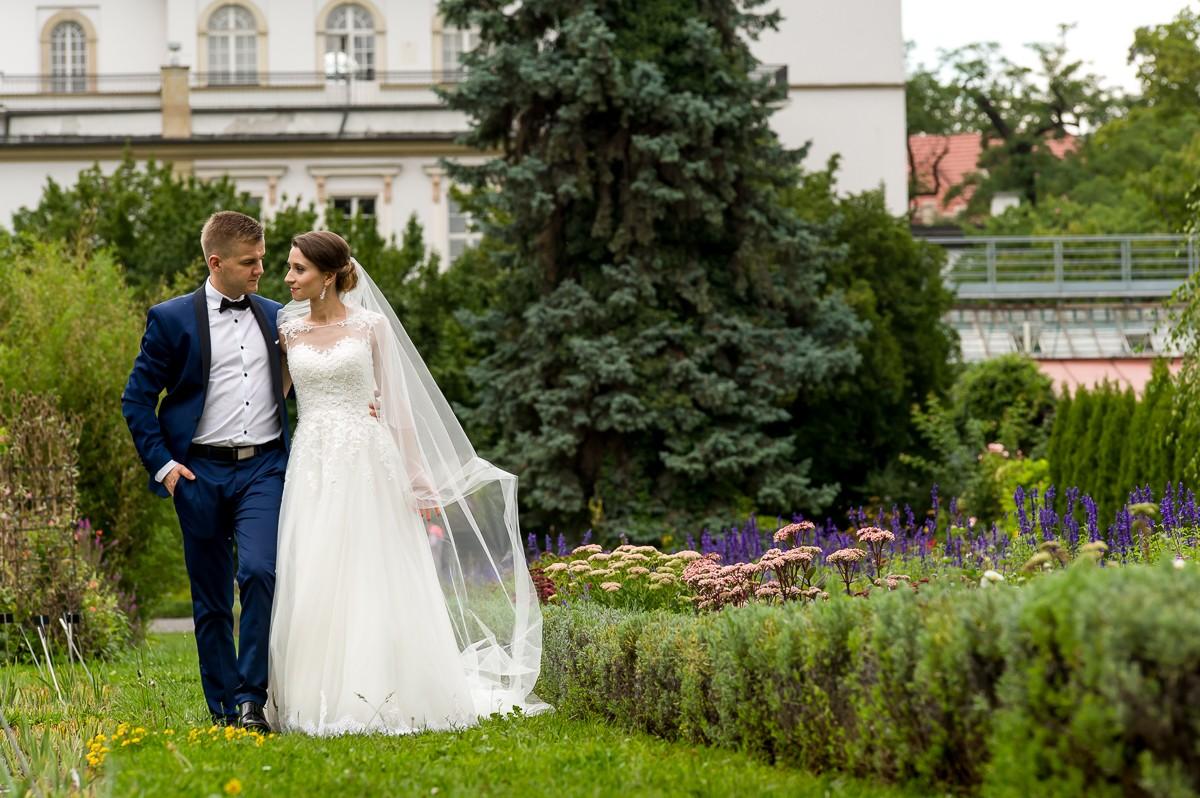 fotografia slubna krakow sesja ogrod botaniczny 110