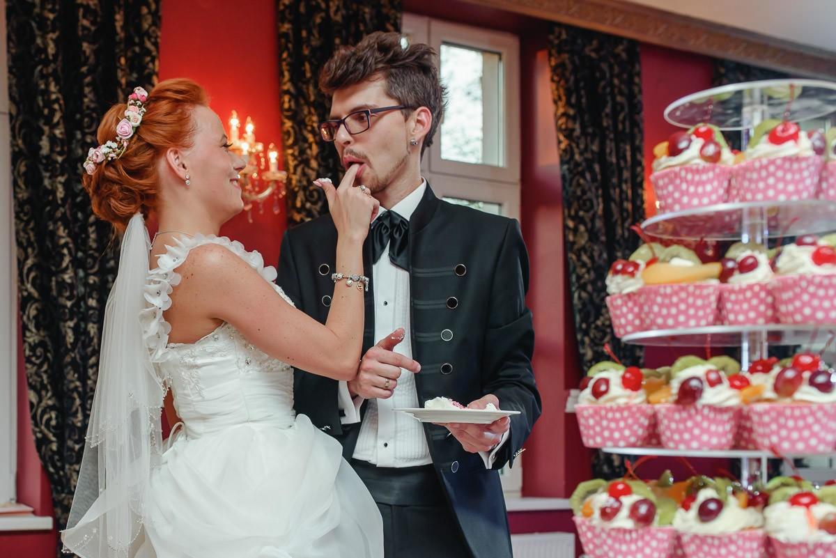 tort weselny z mufinek Cieszyn