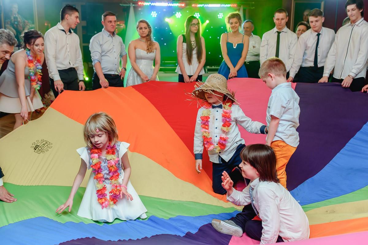 atrakcje dla dzieci na weselu
