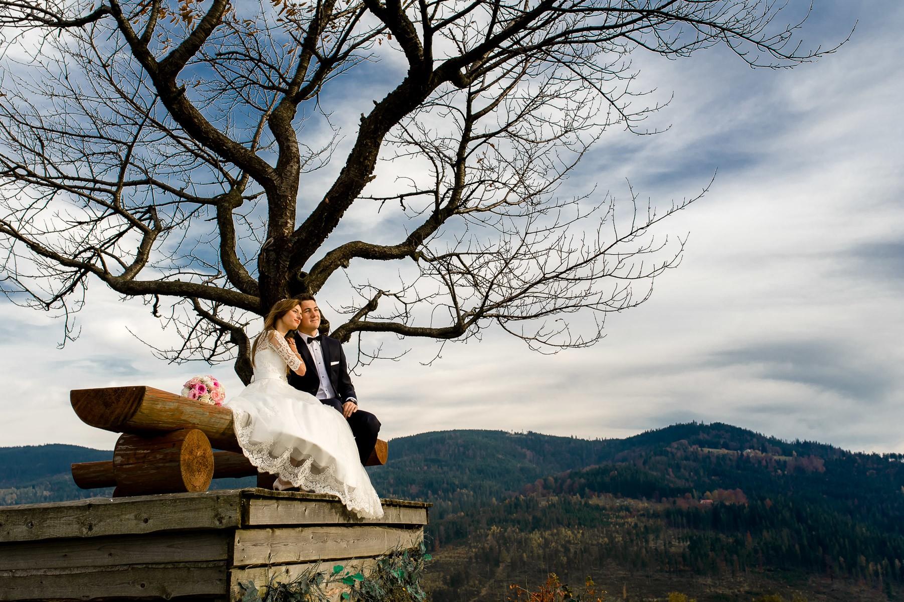 sesja ślubna w Wiśle
