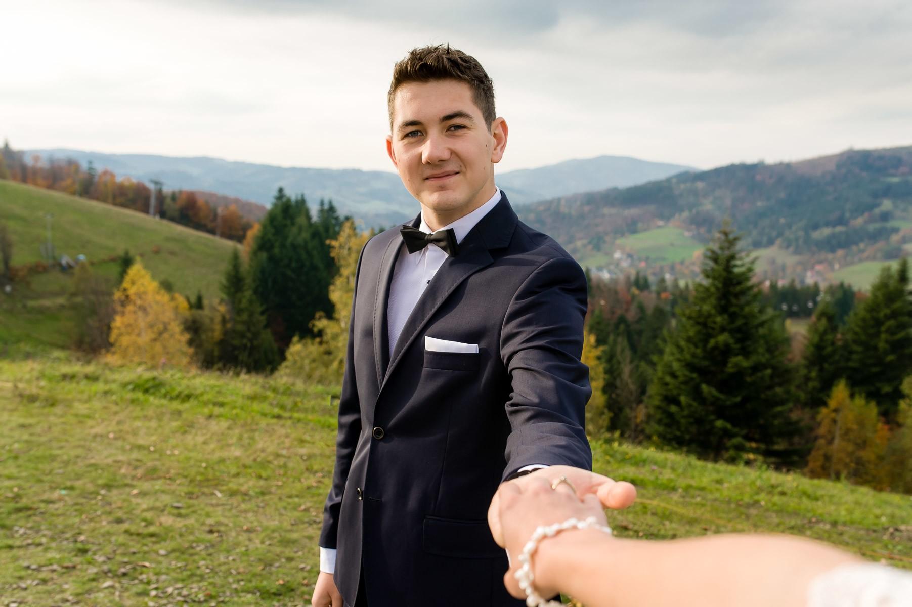 sala na skarpie fotograf slubny slask malopolska adam pietrusiak plener slubny w gorach jw wedding 179