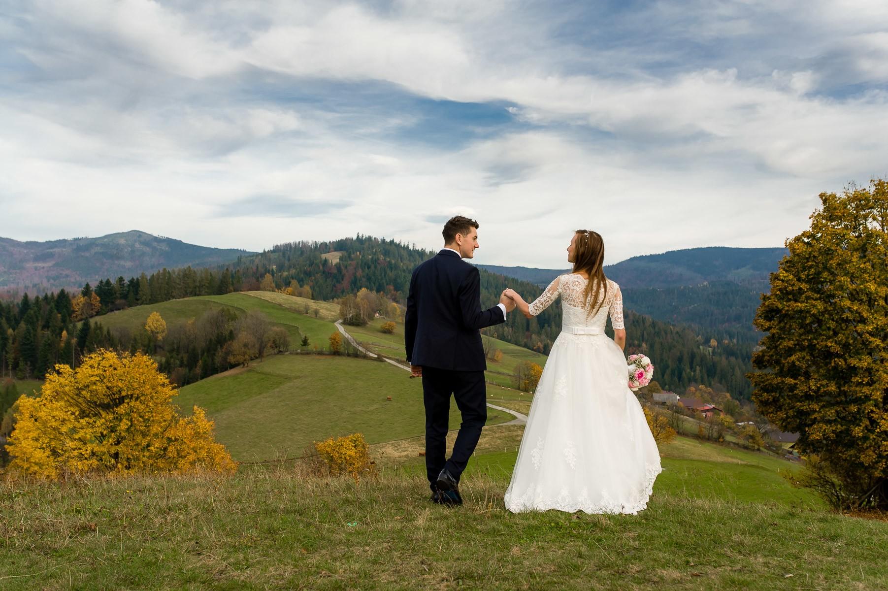sala na skarpie fotograf slubny slask malopolska adam pietrusiak plener slubny w gorach jw wedding 182