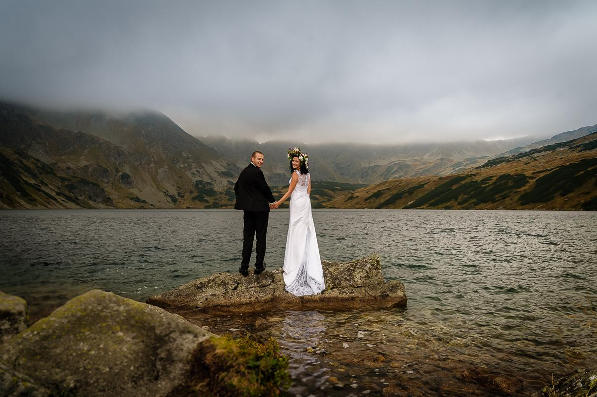 plener ślubny Dolina 5 Stawów