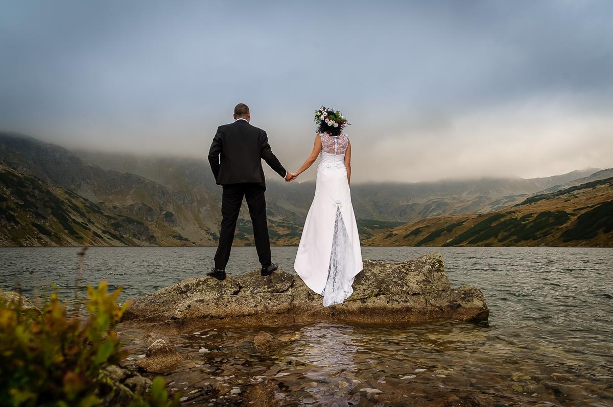 sesja ślubna Tatry Dolina Pięciu Stawów