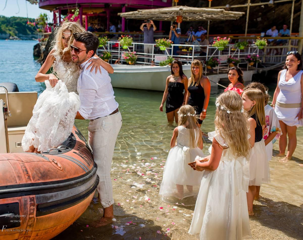 ślub na plaży fotograf ślubny Katowice Bielsko