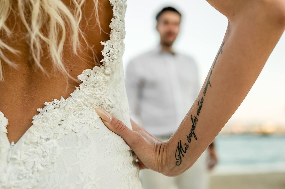 plener ślubny na plaży nad morzem fotograf ślubny Śląsk Małopolska
