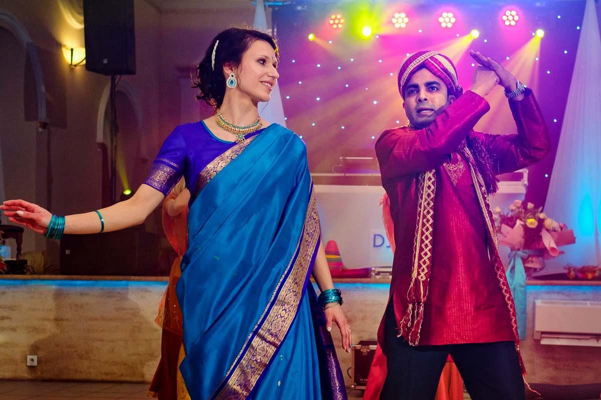 wesele w stylu Bollywood