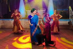 międzynarodowe wesele w stylu Bollywood