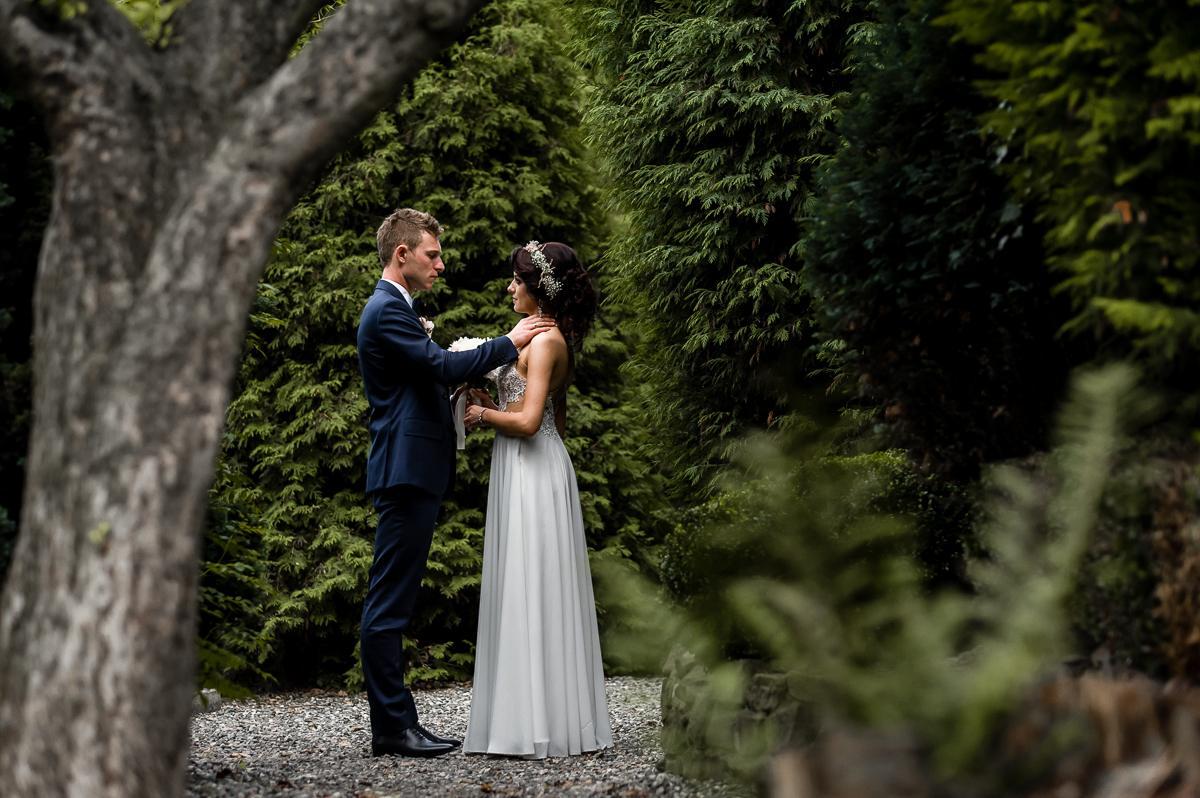 sesja ślubna Dworek Nad Stawem