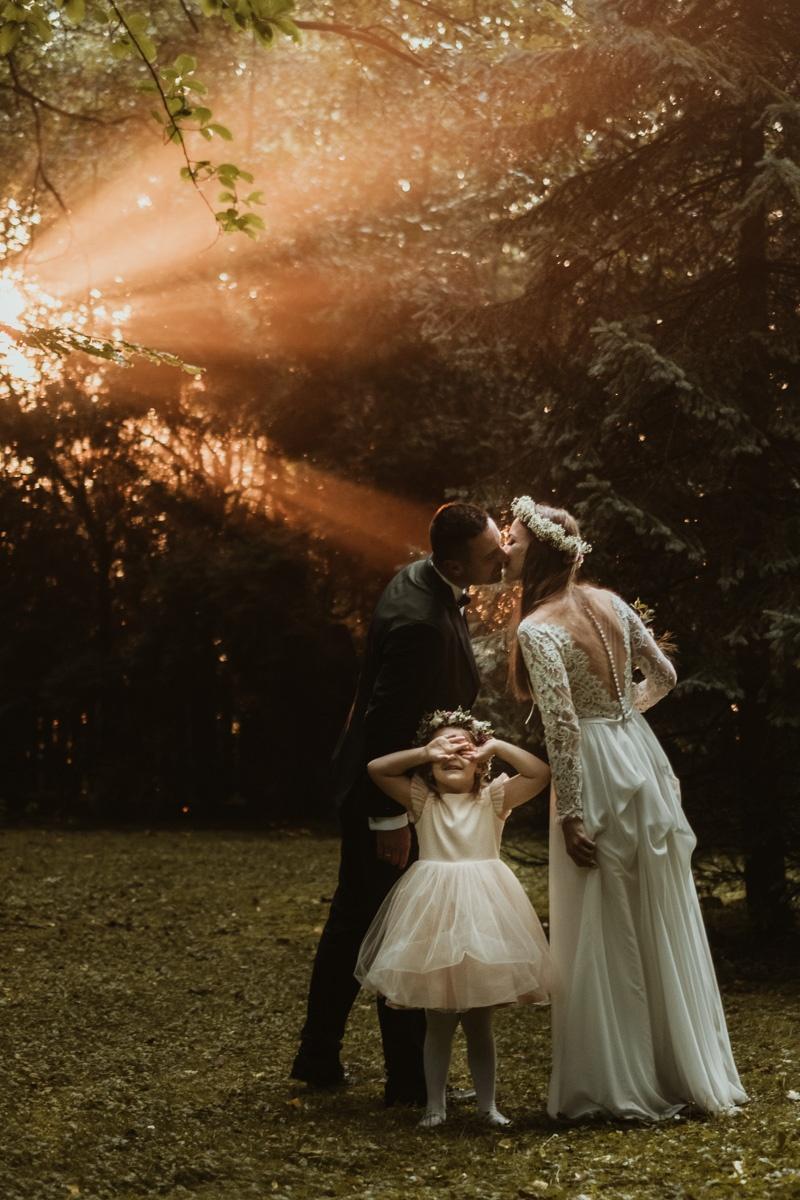 z dzieckiem do ślubu