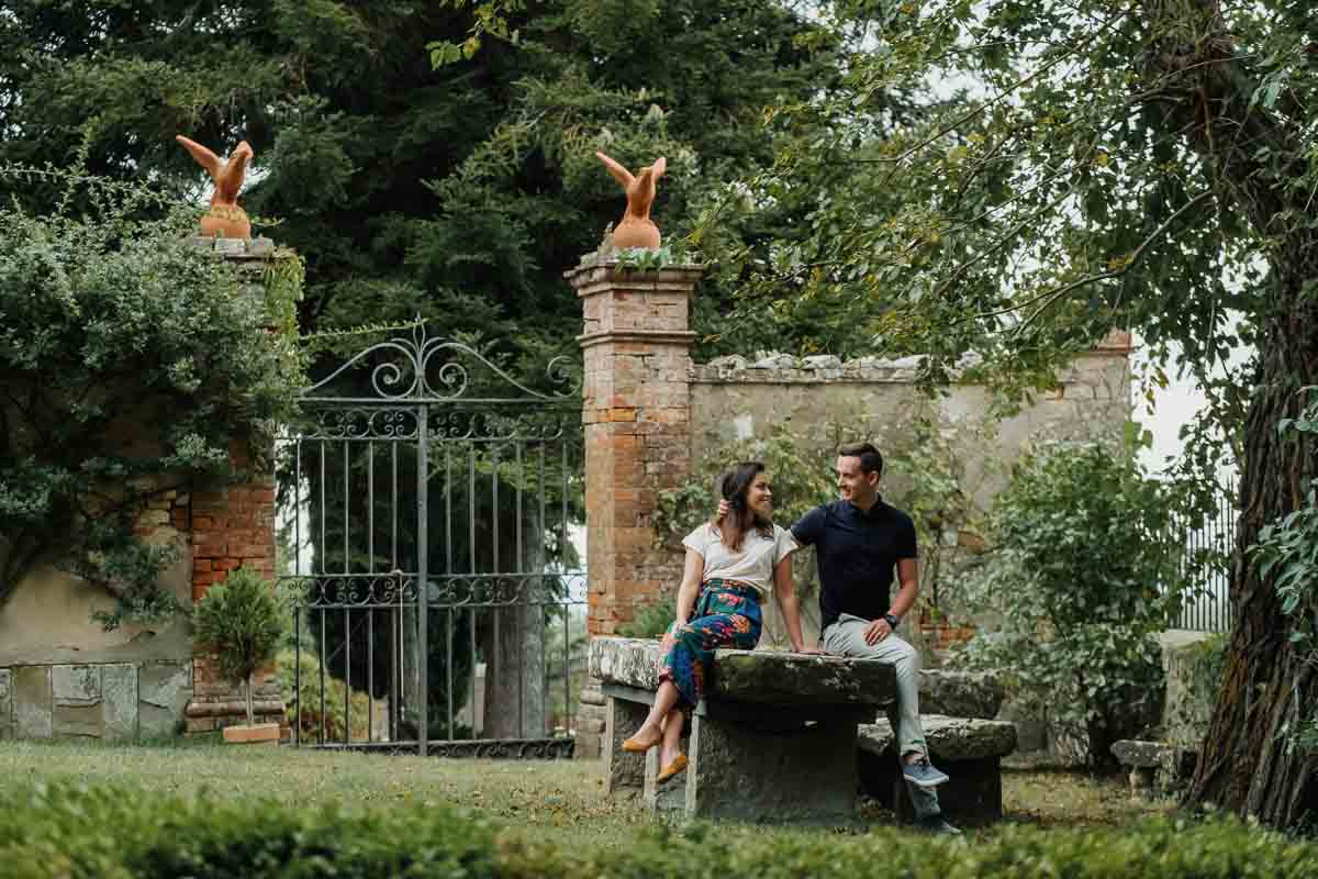 sesja zdjęciowa w Toskanii