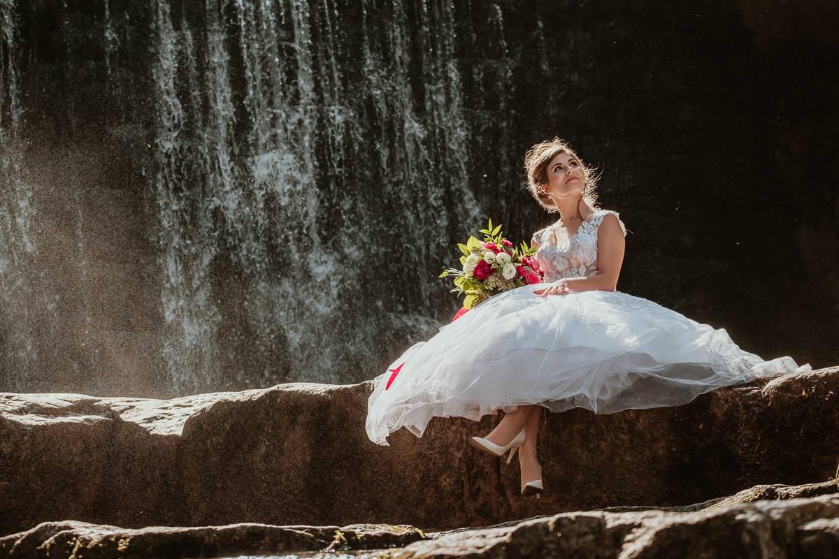 sesja slubna wodospad fotograf slubny katowice 128