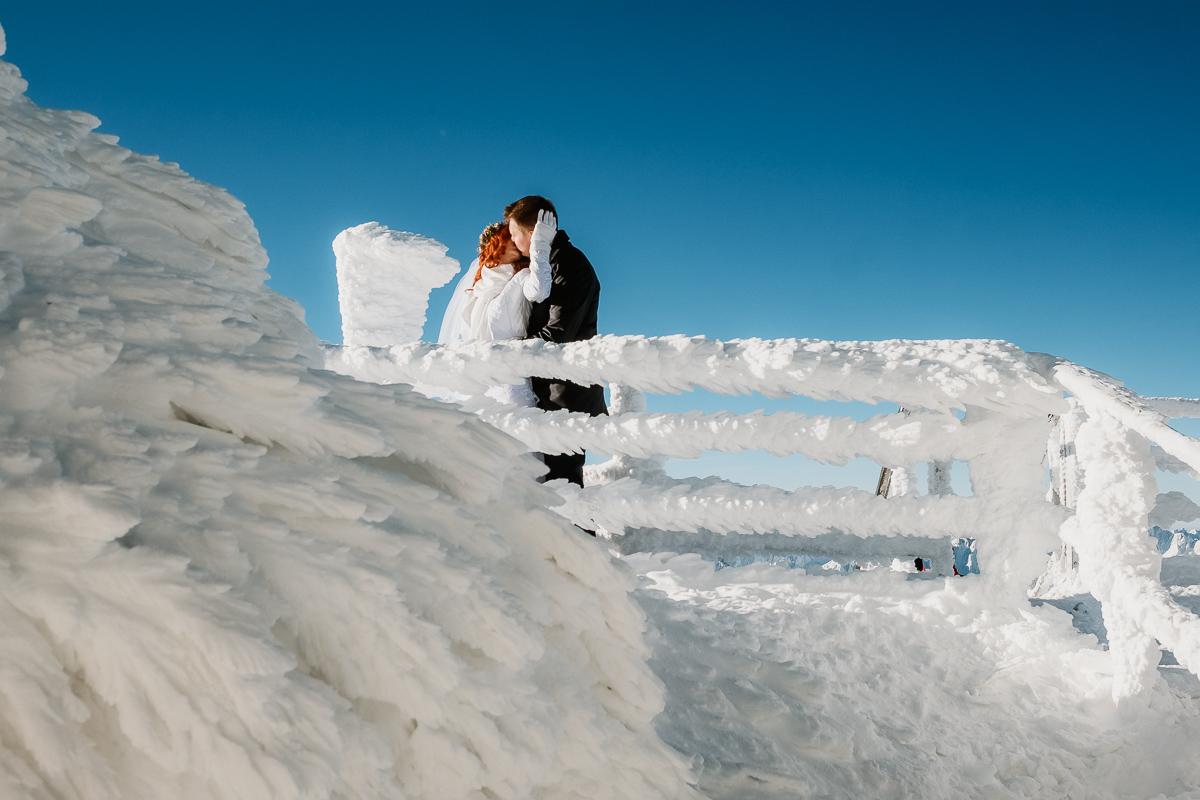 lub wesele sesja ślubna zimą w górach fotogenesis 186