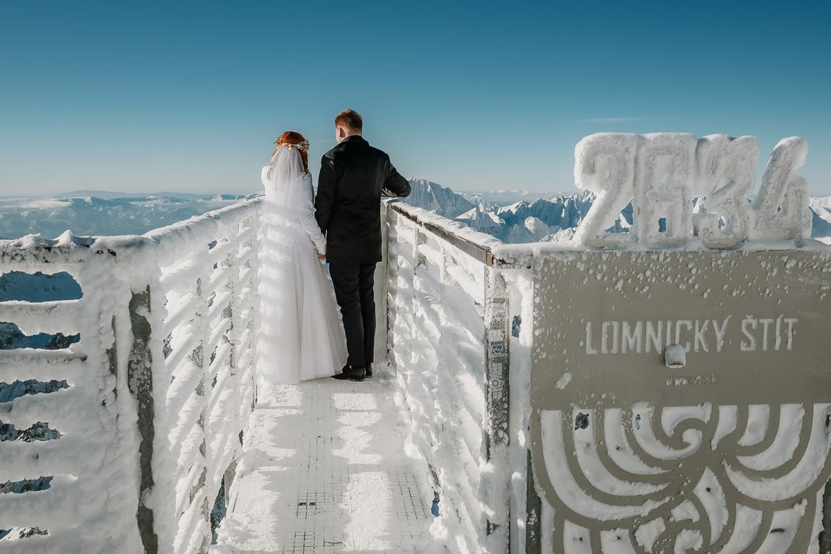 lub wesele sesja ślubna zimą w górach fotogenesis 189