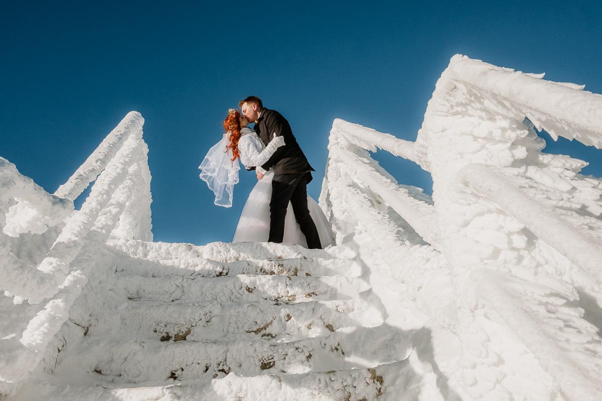 lub wesele sesja ślubna zimą w górach fotogenesis 192