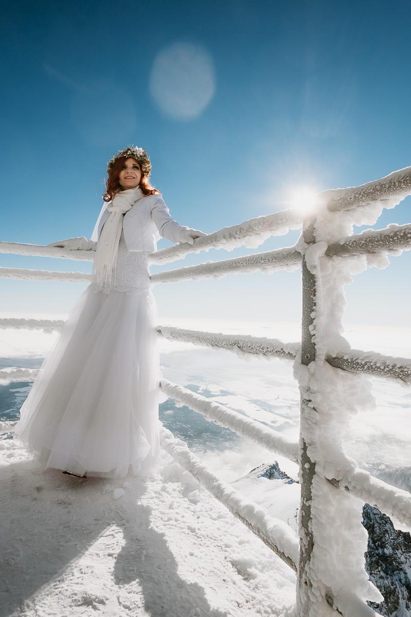 lub wesele sesja ślubna zimą w górach fotogenesis 197