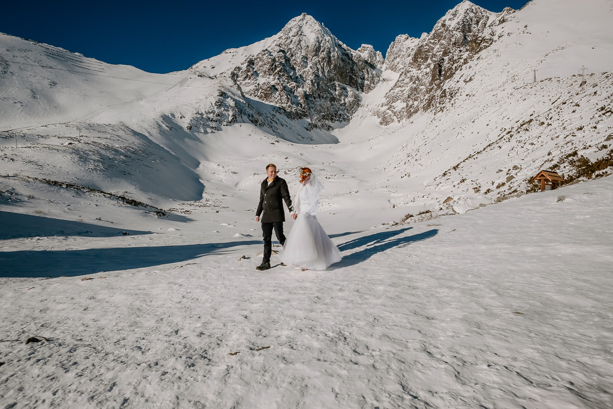 lub wesele sesja ślubna zimą w górach fotogenesis 199