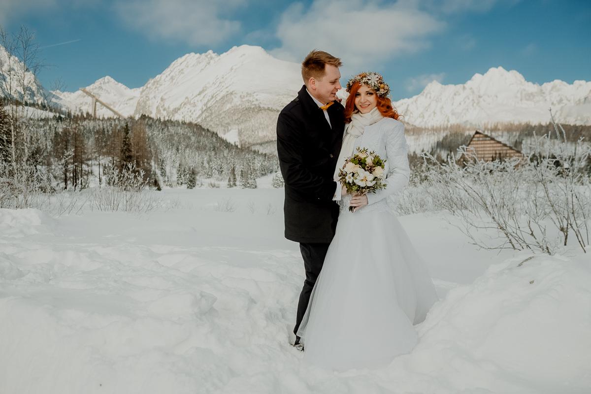 lub wesele sesja ślubna zimą w górach fotogenesis 201