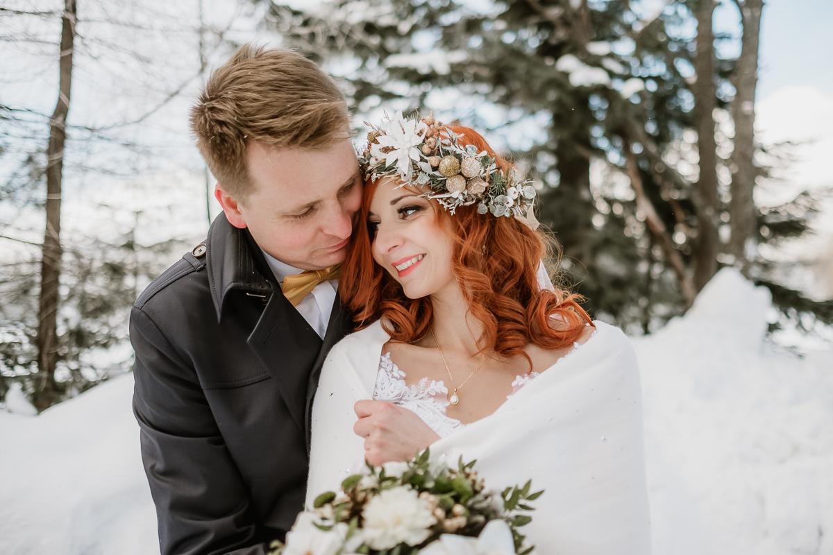 lub wesele sesja ślubna zimą w górach fotogenesis 205