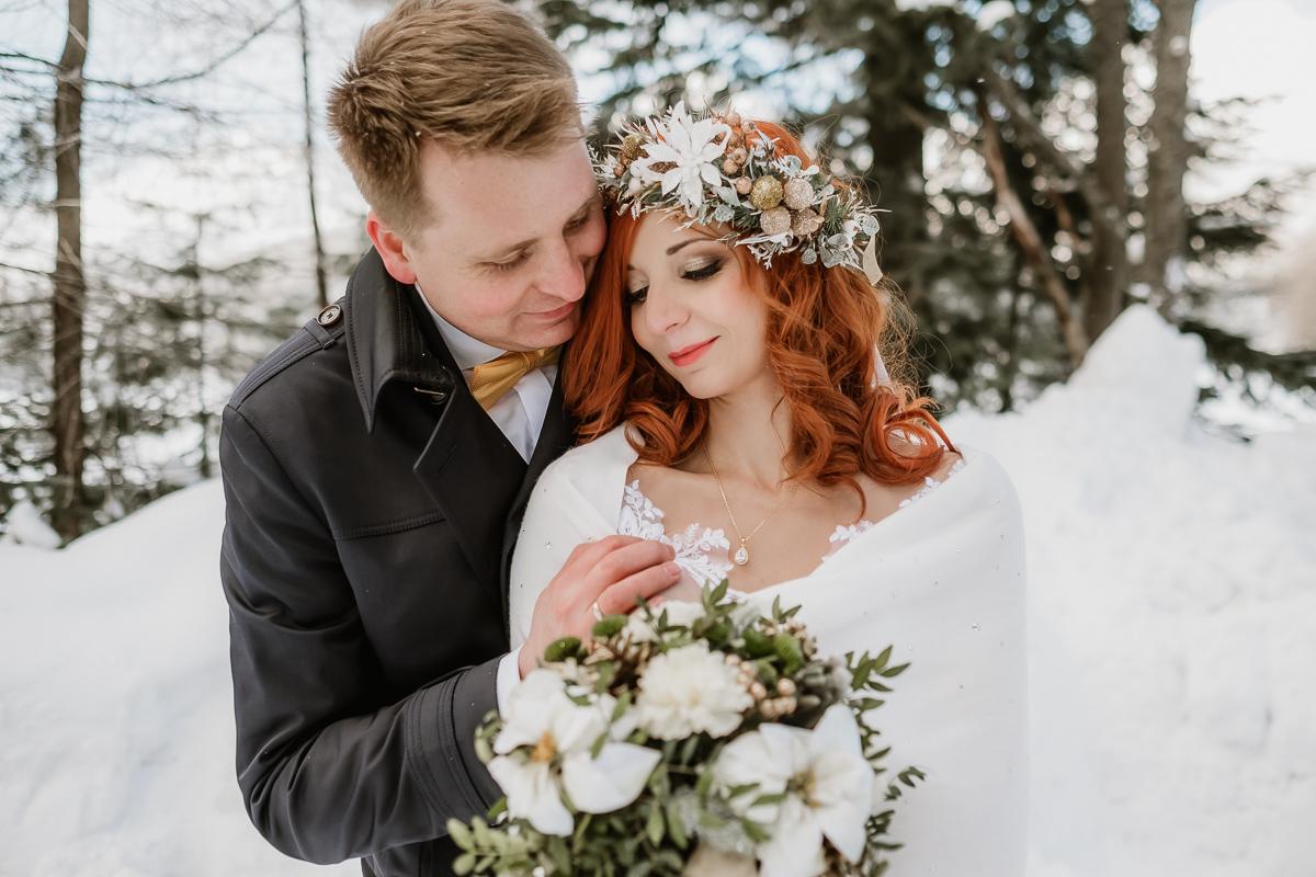 lub wesele sesja ślubna zimą w górach fotogenesis 206