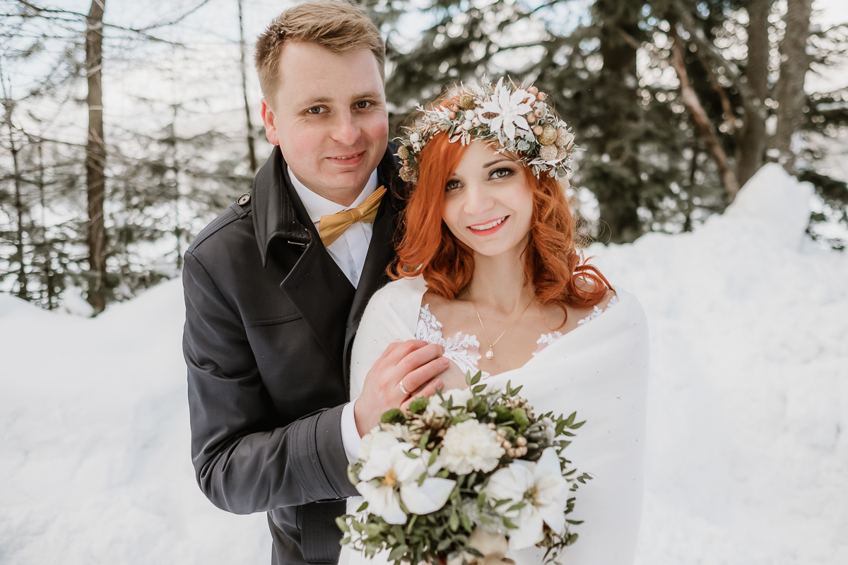 lub wesele sesja ślubna zimą w górach fotogenesis 207