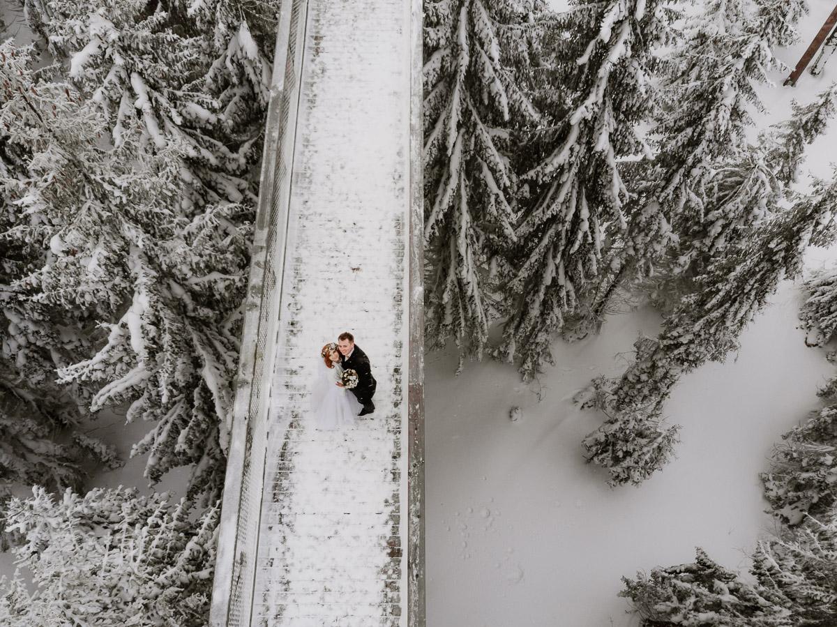 lub wesele sesja ślubna zimą w górach fotogenesis 210