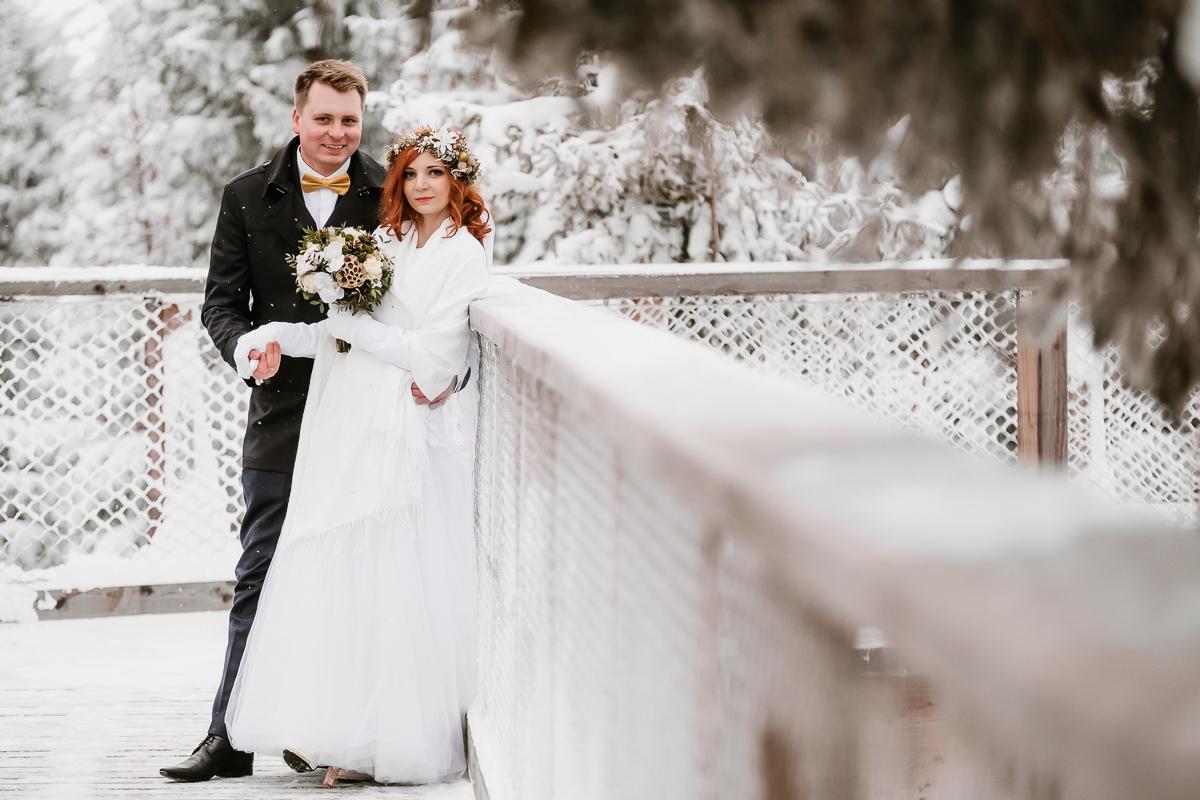 lub wesele sesja ślubna zimą w górach fotogenesis 214