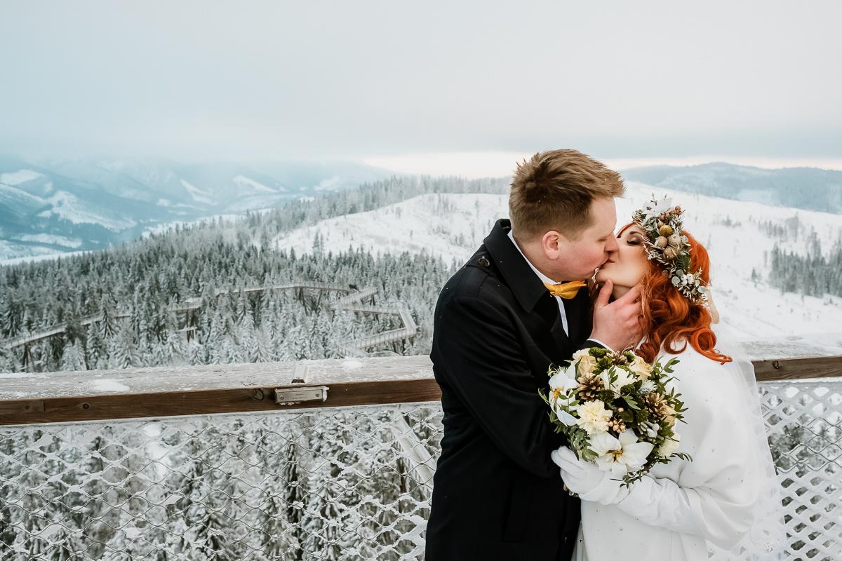 lub wesele sesja ślubna zimą w górach fotogenesis 219